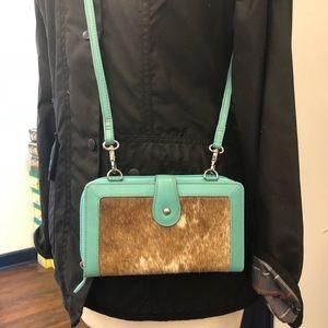 Handbags - Cowhide Wallet/Crossbody
